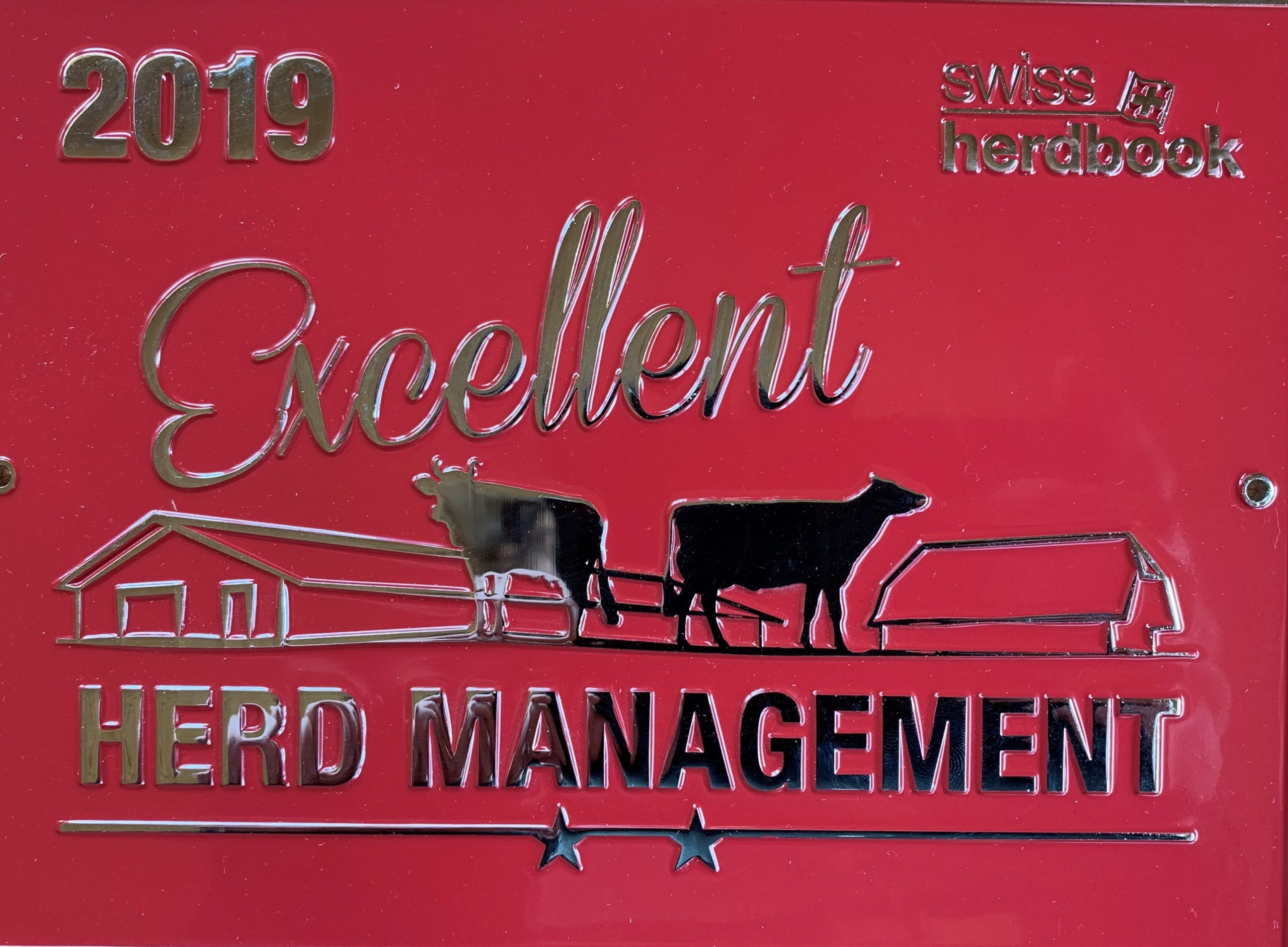 Excellent herd management 2019